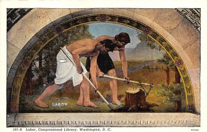 Artist Post Card Labor  - Charles Sprague Pearce Library of Congr...