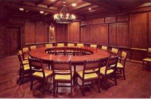 GERMAN NATIONALITY ROOM, SCHOOL OF NATIONS BLDG, PRINCIPIA COLLEGE, ELSAH, IL