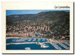 Postcard Modern Lavandou (Var) General aerial view