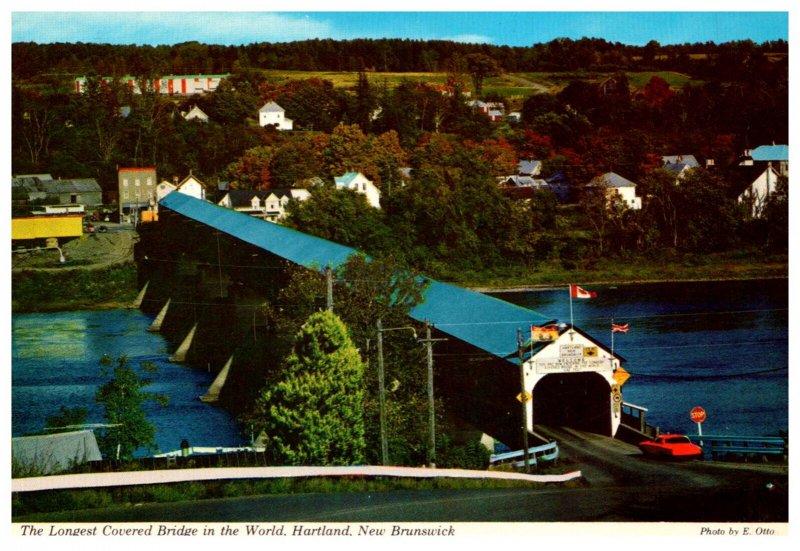 Canada Hartland N.B.  Longest Covered Bridge