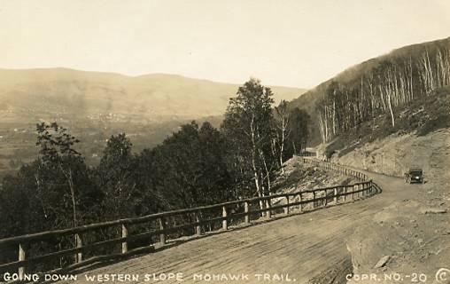 MA - Berkshires. Western Slope on Mohawk Trail    *RPPC