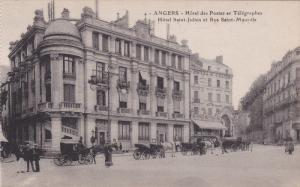 ANGERS, Maine Et Loire, France, 1900-1910's; Hotel Des Postes Et Telegraphes,...