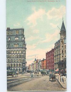 Unused Divided-Back STREET SCENE Rochester New York NY F0870