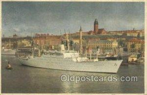 MS Stockholm Ship 1953