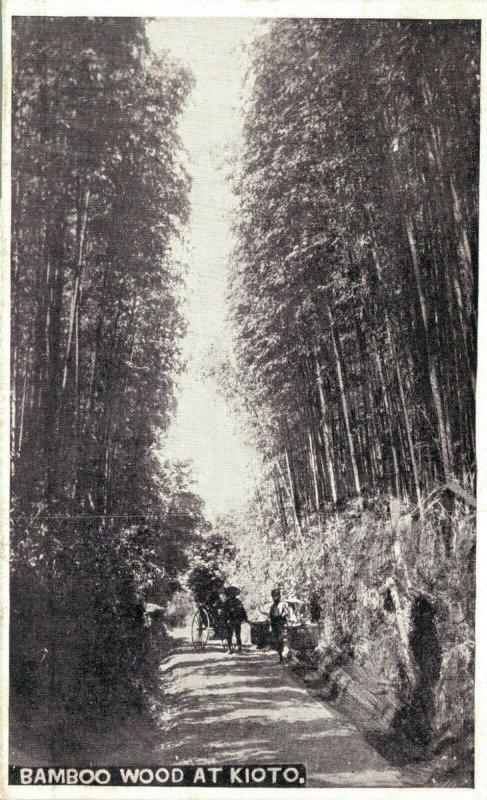 Japan Bamboo wood at Kioto 03.90