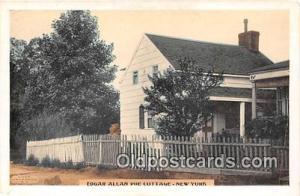 New York, USA Postcard Post Card Edgar Allan Poe Cottage