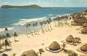 American Samoa Alao Tutuila Pan American Airlines Vintage Postcard JF685426