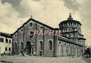 Modern Postcard Milano Church of St. Mary of Grazie