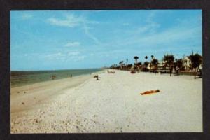 FL Homes Beach PASS-A-GRILLE FLORIDA Postcard PC