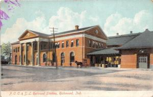 Richmond IN~Pittsburgh-Cincinnati-Chicago & St. Louis (PCC&SL) Railroad Station