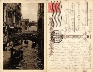 CPA Venezia Canale e Ponte dei Sospiri. ITALY (449582)