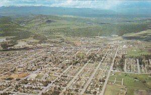 Canada Aerial View Cranbrook British Columbia