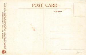 The Gorse Fairies Signed M. W. Tarrant Vintage Postcard