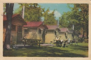 MIDLAND , Ontario , Canada , 1943 ; Cabins at Little Lake Camp