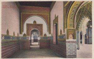 SEVILLA, Andalucia, Spain, 1900-1910's; Alcazar - Salon del Principo