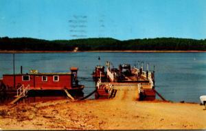 Arkansas Lake Norfork Ferry 1955