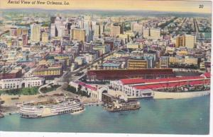 Louisiana New Orleans Aerial View