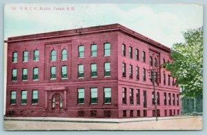 Fargo ND~YMCA Door~Elsie, Going to Maiden Rock MT Easter? c1910 4 For 5¢ Ha! Ha!