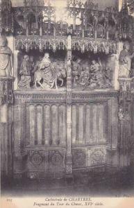 France Chartres Cathedrale Fragment du Tour du Choeur