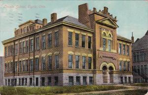 Ohio Elyria Lincoln School 1910