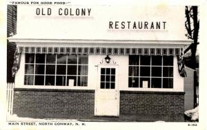 NH - North Conway. Old Colony Restaurant, Main Street next door to the Old 5 ...