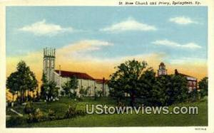 St Rose Church And Priory Springfield KY Unused