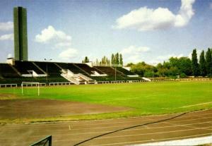 poland, WARSAW WARSZAWA, Stadion K.K.S. Polonia (1993) Stadium Postcard