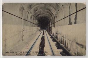River Tunnel Detroit MI