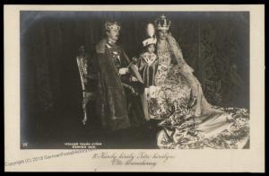 Austria WWI Hungary Kaiser Karl Franz Josef Successor Wife Zita Son Otto R 79699