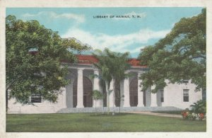 Library of HAWAII , T.H. , 1910s