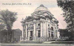 Savings Bank of Utica Utica, NY, USA Unused
