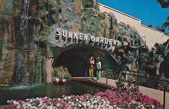 Florida St Petersburg Sunken Gardens Entrance
