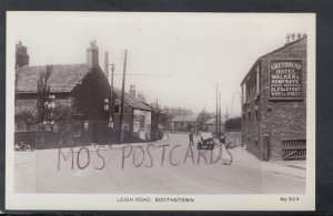 Lancashire Postcard - Leigh Road, Boothstown, Greater Manchester  HM687