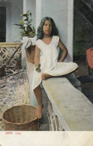 MEXICO, 1900-1910s; Lily