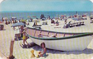 New York Long Island Beach Scene