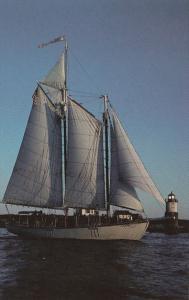 Schooner Estwind Boothbay Harbor Maine