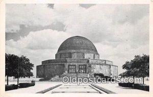 Adler Planetarium & Astronomical Museum Space Chicago Park District, IL, USA ...