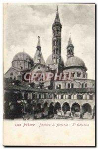 Old Postcard Padova Basilica di S Antonio Chiostro