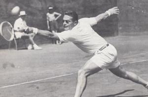 Jaroslav Drobny Czechoslovakia Wimbledon Tennis Champion Vintage Postcard