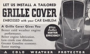 Radiator GRILLE COVER , 1930s