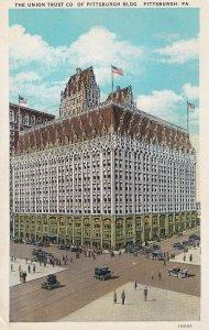 PITTSBURGH, Pennsylvania, 1900-1910's; The Union Trust Co. Of Pittsburgh Bldg.