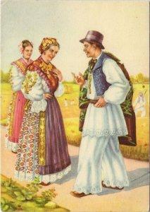 CPM Croatian national costume FOLKLORE (753307)