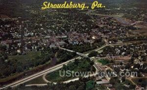 Stroudsburg, Pennsylvania, PA, Post Card -pa_qq_5339