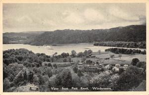 View from Post Knott. Windermere Landscape with Greetings