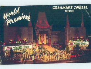 Chrome THEATER SCENE Hollywood - Los Angeles California CA AH4739
