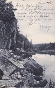 THOUSAND ISLAND, New York, PU-1907; Indian Rocks