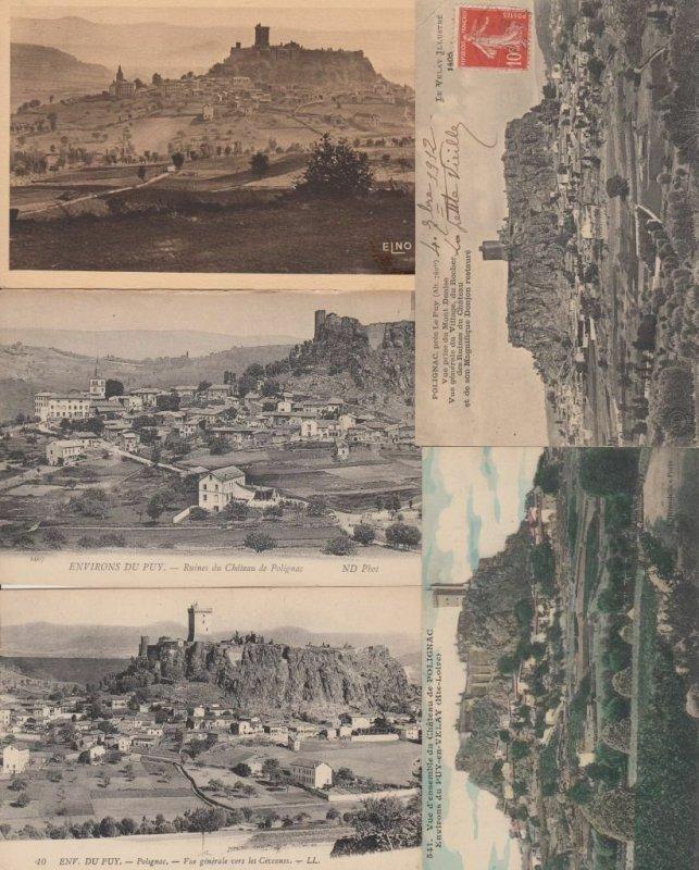 POLIGNAC HAUTE-LOIRE (DEP.43) AUVERGNE 53 Cartes Postales 1900-1940