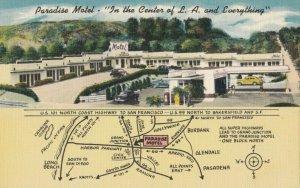 Los Angeles, California, 1930-1940s ; Paradise Motel