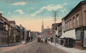 ST JOHN , New Brunswick, Canada , 00-10s ; Main Street , looking West