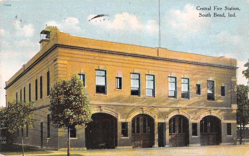 South Bend Indianacentral Fire Department4 Bay Garage Door Station